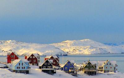 格陵兰岛 冰雪覆盖的纯净世界