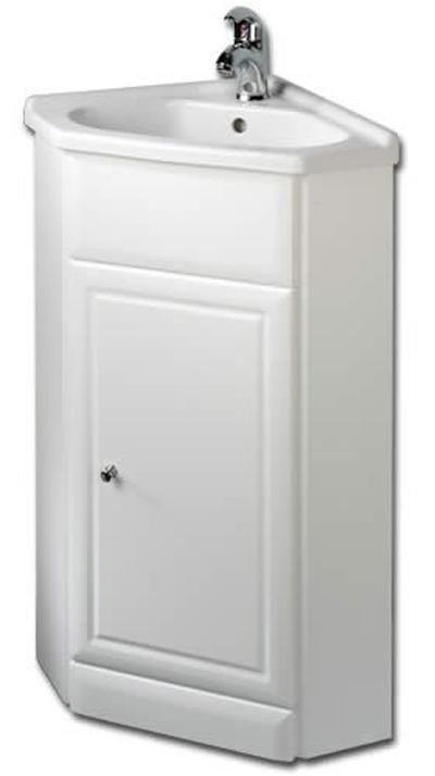 欧式田园风的经典款,如果洗手间面积够大,可以配备同系设计的柜子